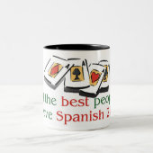 Spanish 21 Lover's two tone mug
