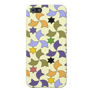 Spanish Alhambra style Tile Mosaic Pattern iPhone 5 Cases