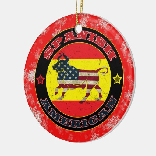 Spanish American Bull Christmas Tree Ornament