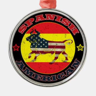 Spanish American Bull Christmas Ornaments