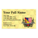 Spanish-American Shield Flag Pack Of Standard Business Cards