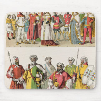 Spanish and Moorish Dress Mouse Mat