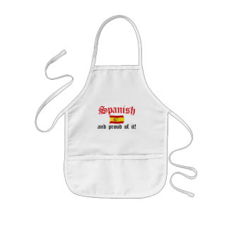 Spanish and Proud of It Kids Apron