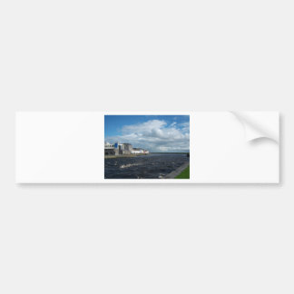 Spanish Arch and Long Walk, Galway. Bumper Stickers