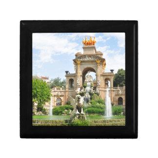 Spanish architecture gift box