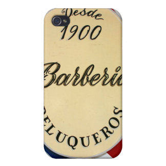 spanish barber shop case iPhone 4/4S cases