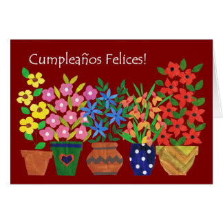 Spanish Birthday Cards Invitations Zazzlecouk