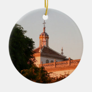 Spanish Building Christmas Ornament