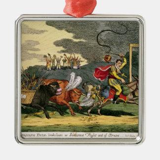 Spanish Bull Broke Lose or Joseph s Flight Ornaments