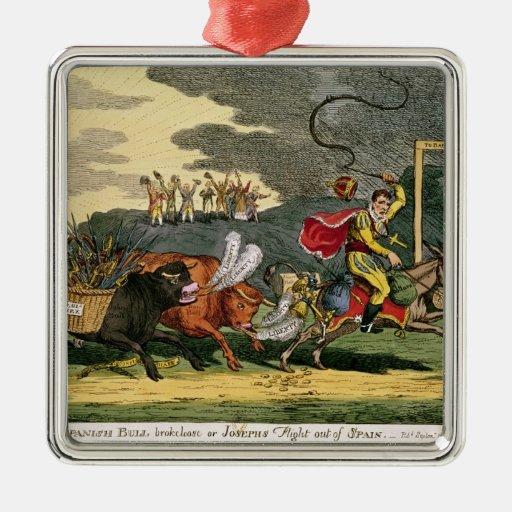 Spanish Bull Broke Lose or, Joseph's Flight Ornaments