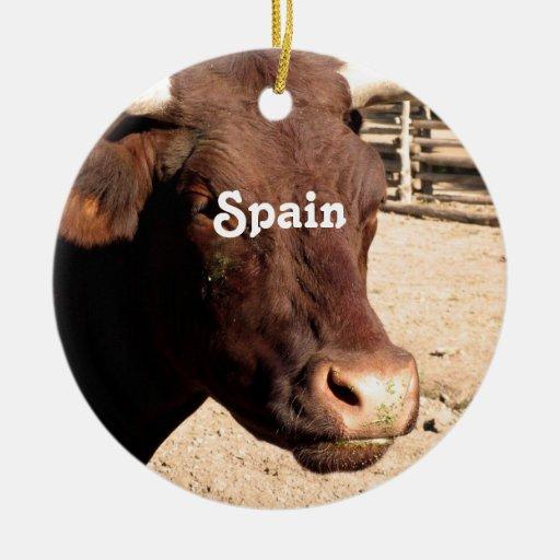 Spanish Bull Ornament
