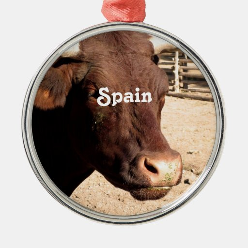 Spanish Bull Christmas Ornaments