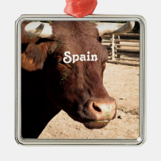 Spanish Bull Christmas Tree Ornament