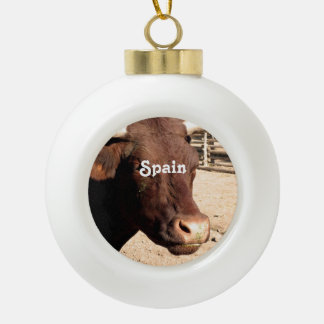 Spanish Bull Ornaments