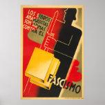 Spanish Civil War Anarchist / Facism Poster