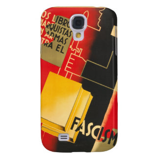 Spanish Civil War Anarchist / Facism Rare Poster Galaxy S4 Case