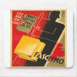 Spanish Civil War Anarchist / Facism Rare Poster Mouse Pads