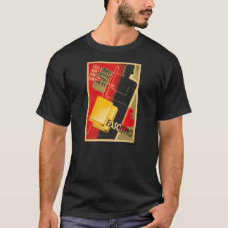 Spanish Civil War Anarchist / Facism Rare Poster T-Shirt
