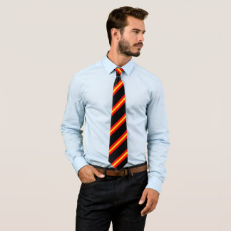 Spanish colors flag tie