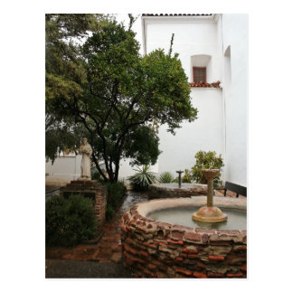 Spanish Courtyard Postcard