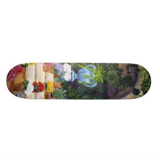 Spanish Courtyard Skateboard Deck