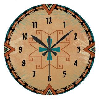 Spanish Cross Large Clock