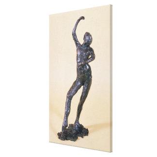 Spanish Dance (bronze) Canvas Print