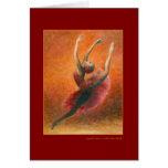 Spanish Dance Greeting Card (customisable)