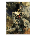 Spanish Dancer at the Rouge Postcard Card