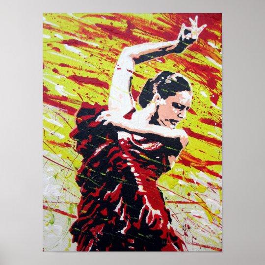 SPANISH DANCER POSTER