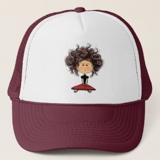 SPANISH DOLL TRUCKER HAT