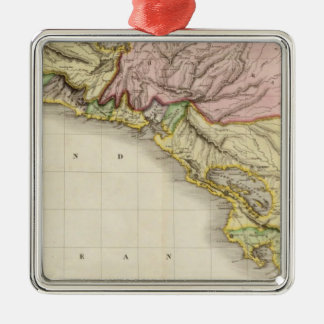 Spanish dominions in North America, southern part Christmas Ornament