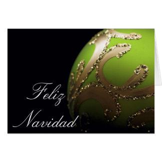 SPANISH - Feliz Navidad - Card