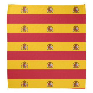 Spanish flag bandana