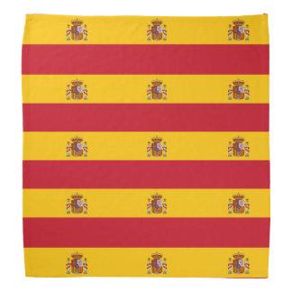Spanish flag bandana