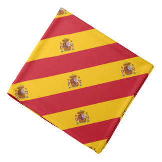 Spanish flag bandana | Spain country colors
