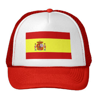 Spanish Flag Bandera Española Baseball Cap Hat