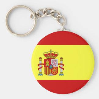 Spanish Flag Bandera Española Key Ring