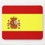 Spanish Flag Bandera Española Mouse Pad