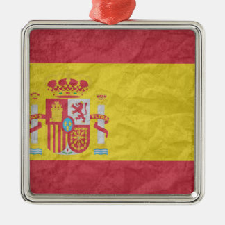 Spanish Flag Christmas Ornament