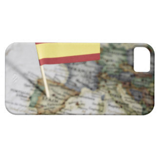 Spanish flag in map barely there iPhone 5 case