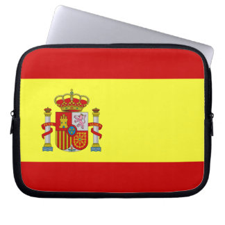 Spanish Flag Laptop Sleeve
