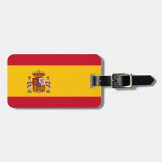 Spanish Flag Luggage Tag