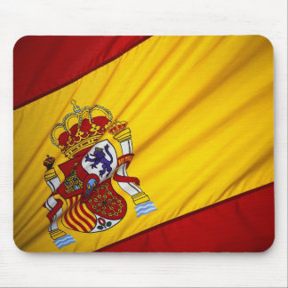 Spanish Flag Mouse Pad