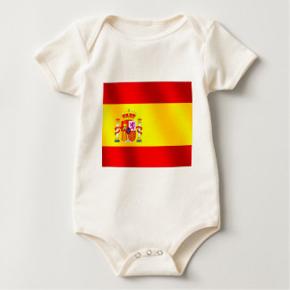 Spanish flag of Spain gifts for Spaniards Baby Bodysuit