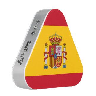 Spanish flag pieladium speaker