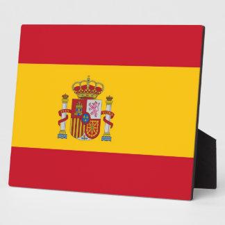 Spanish Flag Plaque