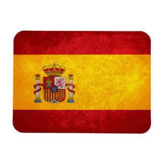 Spanish Flag Rectangular Photo Magnet