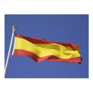 Spanish Flag RF) Postcard