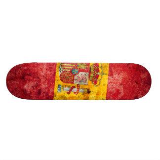 Spanish Flag Skate Decks